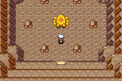 Pokemon Sapphire - Location Desert Ruin - Regirock - User Screenshot
